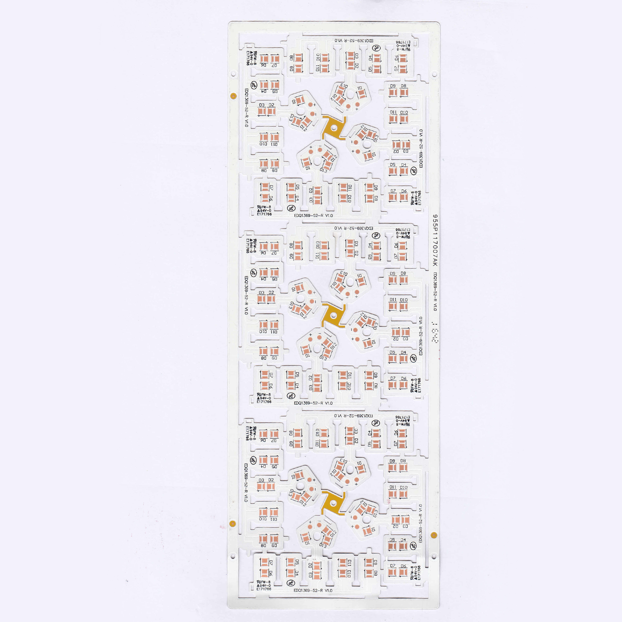 0.2mm Bendable MCPCB LED Lighting SS