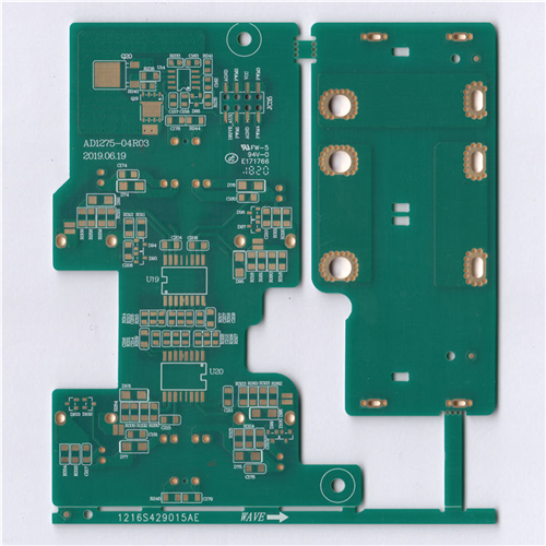 PCB KB-6150 FR4 94VO 4OZ Double Side Imme Gold