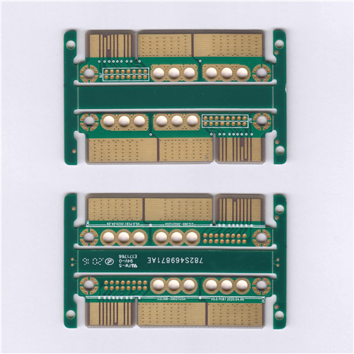 PCB KB-6150 FR4 94VO 2OZ 4Layer Imme Gold - Bevelling Gold Finger